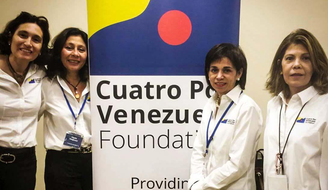Cuatro Por Venezuela Founders
