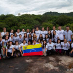 Group of doctors with Venezuelan flag